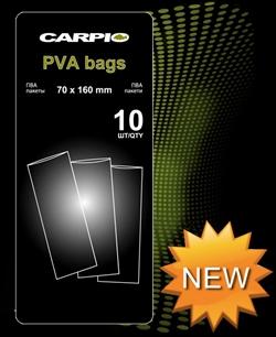 ПВА Пакеты Carpio Pva Bags 70Х160мм 20шт/уп - фото 3781