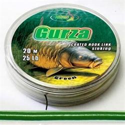 Повод, Матер, Gurza 15Lb 20м Черно-Зеленый - фото 3878