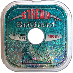 Леска Stream Brilliant 30м 0,24мм - фото 4348