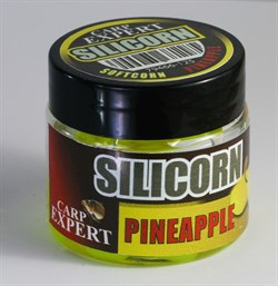 Кукуруза Силиконовая Тонущая Carp Expert Silicorn Neon Yellow - Pineapple - фото 44675
