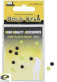 Пластиковая Бусина Hard Plastic Beads 4мм - фото 4742