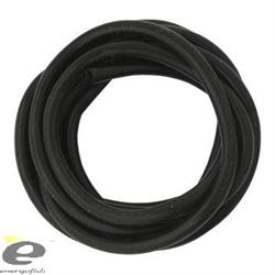 Силиконовая Трубка Черная Silicone Tubes Black 1,5мм, 1м - фото 4746