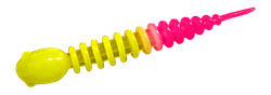 Резина Trout Bait Chub 50, Сыр, цвет 26 Lemon-Pink - фото 59328