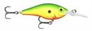 Воблер Rapala Max Rap Fat Shad Плавающий 2,4-3,6м, 5см 8гр YGRU