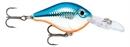Воблер Rapala Ultra Light Crank плавающий до 1,2-2,4м, 3см, 4гр SB