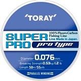 Toray Super Pro 50м. 0,076мм. 1,2lb