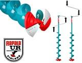 Ледобур UR-Rapala 115 с композитной головой и сменными ножами