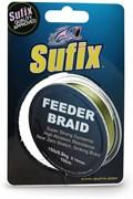 Леска Плетёная Sufix Feeder Braid Olive Green 100м 0.10мм