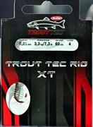 Поводок для форелевой пасты Berkley Trout TEC Rig XT 0,18 size 10
