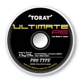Toray Ultimate Pe Green 100м. 0,148мм. 9lb