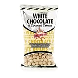 Dynamite Baits бойлы тонущие 20мм. White Chocolate & Coconut Cream 1кг.