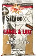 Dynamite Baits прикормка 1кг Silver X канал- озеро