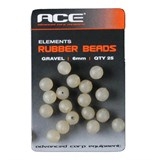 ACE Rubber Beads 6mm бусинка серая