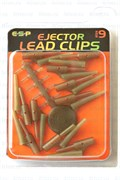Drennan Ejector Lead Clips Size9 Brown