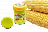 Паста Natural Scent TroutBait Corn Gliter Кукуруза с блестками