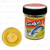 Форелевая Паста Berkley Gulp! Dough Natural Scent Chunky Cheese 50гр