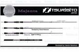 Спиннинг Tsuribito Majenta 662L 1,99м 2,5-8гр Fast