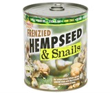 Насадка Dynamite Baits Frenzied Hempseed & Snails Консервированная Конопля с Улитками 600гр 4мм