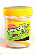 Форелевая Паста Berkley TroutBait Glow in the DarkTurbo Dough Orange White 50гр