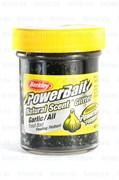 Форелевая Паста Berkley Natural Scent Trout Bait Glitter Garlic Black 50гр