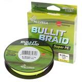 Леска Плетёная Bullit Braid Yellow 92м 0,12мм