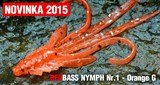 Мягкая Приманка Redbass №1- S 53мм Orange G 5шт/уп