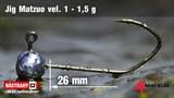 Джиг-головка Matzuo №1 Bronz 1,5гр 5шт/уп