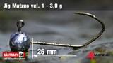 Джиг-головка Matzuo №1 Bronz 3,0гр 5шт/уп