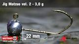 Джиг-головка Matzuo №2 Bronz 3,0гр 5шт/уп
