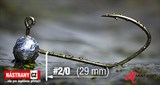 Джиг-головка Matzuo №2/0 Bronz 3,0гр 5шт/уп