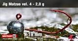 Джиг-головка Matzuo №4 Red 2,0гр 5шт/уп