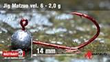 Джиг-головка Matzuo №6 Red 2,0гр 5шт/уп