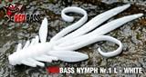 Мягкая Приманка Redbass №1- L 80мм White 5шт/уп