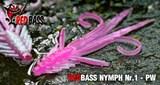 Мягкая Приманка Redbass №1- L 80мм Pink/Silver 5шт/уп