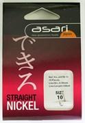 Готовый Поводок Asari Straight №10, 0,30мм, 120см 10шт/уп