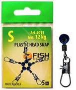 Застежка с Пластиковой Головкой Plastic Head Snap S