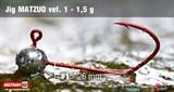 Джиг-головка Matzuo №1 Red 1.5гр 5шт/уп