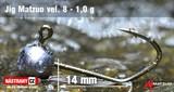Джиг-головка Matzuo №8 Bronz 1,0гр 5шт/уп