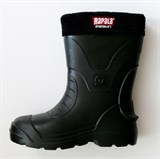 Сапоги Rapala Sportsman's, короткие черные, размер 45