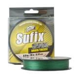 Плетеная Леска Sufix SFX BRAID Green 135м 0,17мм