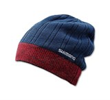 Шапка Shimano BREATH HYPER+ CA064NNV Fleece Knit Watch Cap Синяя