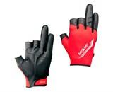Перчатки NEXUS GL-181M 3 пальца обрез. красн. XL