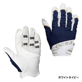 Перчатки Shimano OCEA Offshore Support Glove GL-292N Белый Синий размер L