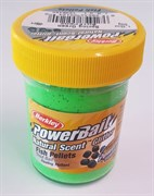 Форелевая Паста Berkley PowerBait Dough Natural Scent Fish Pellet Spring Green 50гр