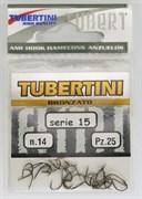 Крючки Tubertini series 15 Nikelato № 12 25шт/уп