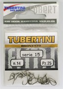 Крючки Tubertini series 15 Nikelato № 6 25шт/уп