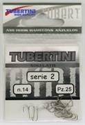 Крючки Tubertini series 2 Nikelato № 5 25шт/уп