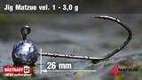 Джиг-головка Matzuo №1 Black 3.0гр 5шт/уп