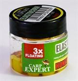 Кукуруза Плавающая Carp Expert ElastoCorn Yellow - Honey 12шт/уп