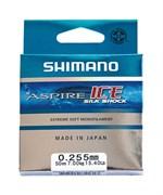 Леска зимняя Shimano Aspire Silk Shock Ice 50м 0,12мм